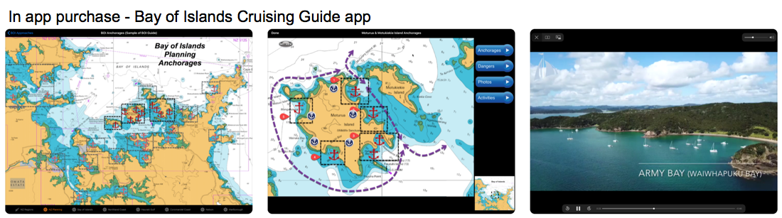 Cruising Guides | Sail South Pacific | Sailing Apps and Cruising