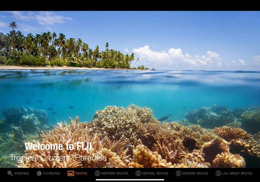 Sail Fiji Cruising Guide | Sail South Pacific | Sailing Apps
